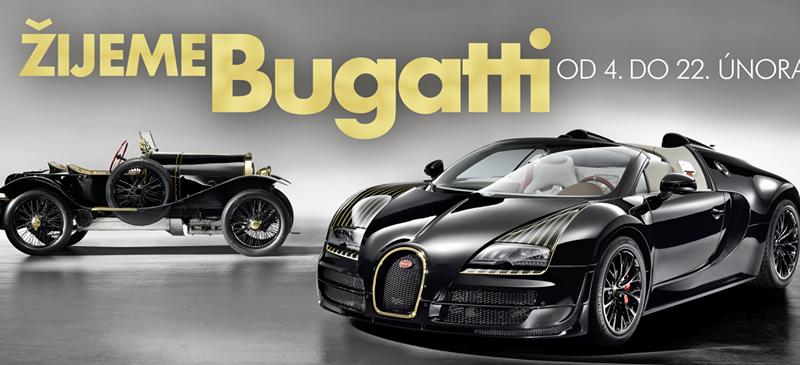 Legendární automobilová značka Bugatti slaví letos 110 let od svého založení.  Své výročí v Česku oslaví výstavou historických vozidel s názvem Žijeme ... b406ea0189
